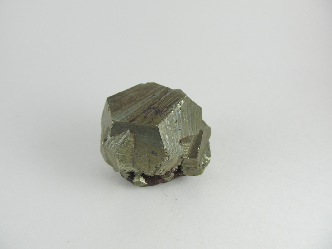 Pyrite Crystal Cluster from Elba Island, Italy